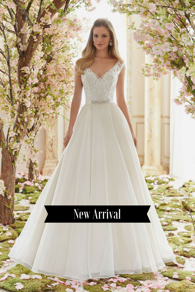 The gown newmarket 39 s wedding boutique for How much do mori lee wedding dresses cost